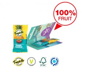 Promotion Cards With Fruit Snack (10g)