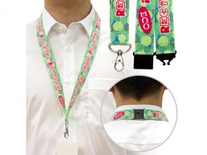 Eco Felt Lanyards With Safety Clip (25mm)