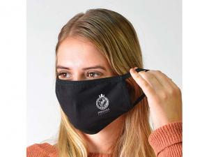 Washable Black Cotton Face Masks (150gsm)