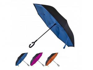 Black Fibreglass Inverted Umbrellas