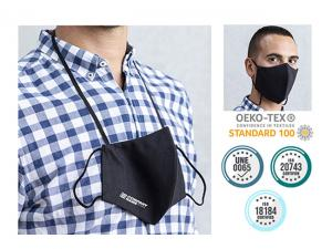Reusable Face Masks With NPJ03 Technology And Neckband