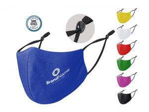 Reusable Face Masks With Elastic Ear Strap Adjusters