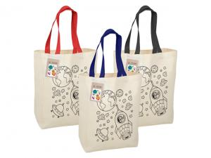 Colouring In Calico Trade Show Bags (140gsm)