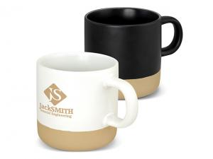 Stoneware Coffee Mugs (330ml)