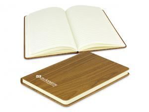 Hard Cover Woodgrain Notebooks (A5)