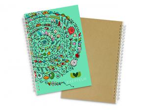 Fully Customised Spiral Eco Notebooks (A5)