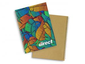 Fully Customised Spiral Eco Notebooks (A4)