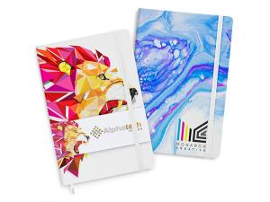 Fully Customised Hard Cover Notebooks (A5)