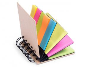 Eco Sticky Notes Spiral Notepads