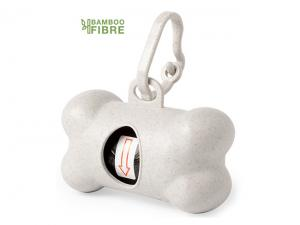 Bamboo Fibre Pets Bag Dispensers