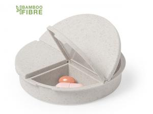 Bamboo Fibre Pill Organisers - Round