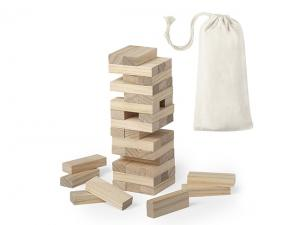 Jenga Game Towers In Printed Pouch