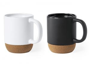 Ceramic Mugs With Cork Base (420ml)