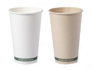 Compostable Paper Cups (500ml)