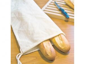 Natural Cotton Bread Storage Bags (105gsm)