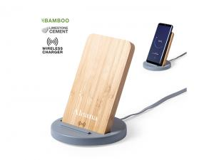 Bamboo Wireless Charger Phone Stands