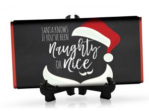Naughty Or Nice Molded Chocolate Bars (48g)