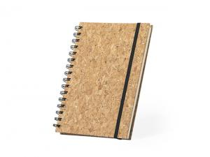 Natural Cork Spiral Notebooks (A5)