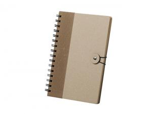 Recycled Hard Cover Spiral Notebooks (A5)
