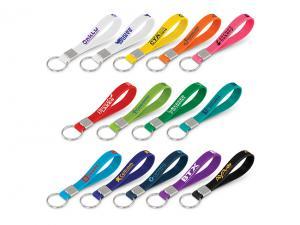 Silicone Strap Key Tags - Printed