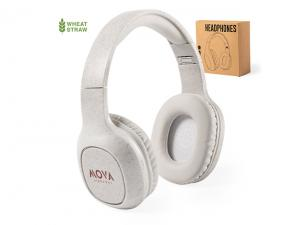 Wheat Straw Bluetooth Headphones
