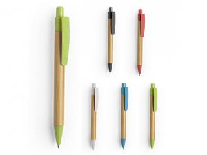 Colourful Bamboo Wheat Straw Pens