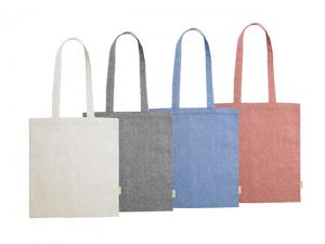 100% Recycled Cotton Tote Bags (120gsm)