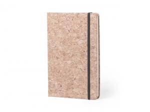 Natural Cork Notebooks With Elastic (A5)