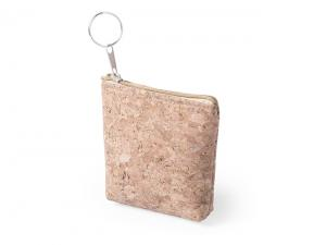 Eco Cork Coin Purse Keyrings