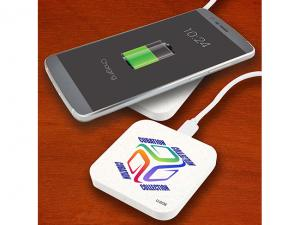 Wheat Fibre Wireless Chargers - Round Or Square