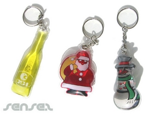 Liquid Filled Key Chains