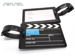 pvc molded luggage tag