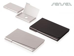 Promotional business card holders promotional engraved business card holders reheart Images