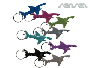 Shark Bottle Opener Key Chains