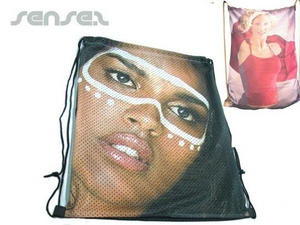 Full Colour Printed Mesh Bags