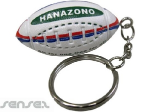 Rugby Sport Key Chains