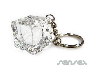 Ice Cube Keyrings