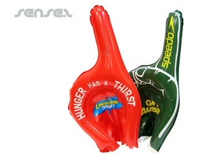 Inflatable Cheering Fingers