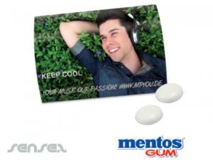 Mentos Chewing Gums In Blister