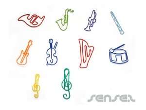 Paper Clips - Shaped (Musical Theme)