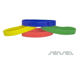 Silicone Wristbands - Embossed