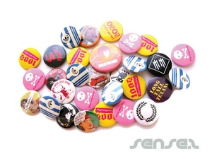 Tin Button Badges (100mm)