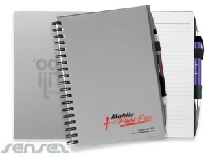 Large Notebooks with Plastic Covers