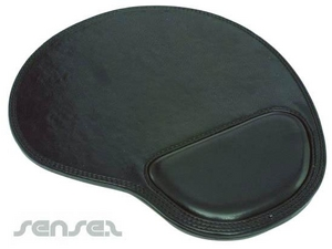 Fake Leather Mouse Pads With Gel Pad