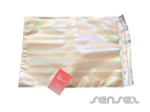 Silver Foil Envelopes - Halo Large (UNBRANDED)