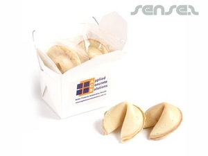 Fortune Cookies In Noodle Boxes