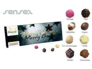 Xmas Advent Calendar Truffle Boxes