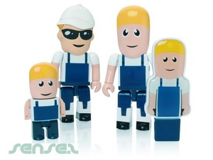 Laborer Builder 2GB USB Sticks