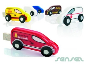 Van Shaped USB Sticks 2GB