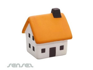House Shaped Stress Balls